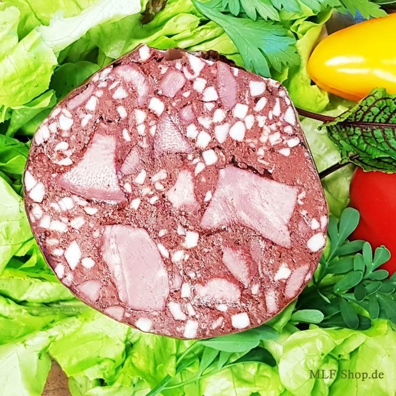 Hausmacher Fleischblutwurst Anschnitt - Jetzt online bestellen