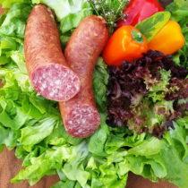 Mediterrane Knackwurst aus Thüringen - Onlineshop