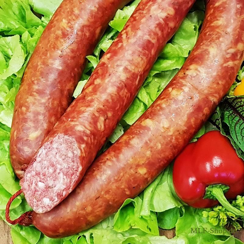 Hausmacher Knoblauch Knackwurst