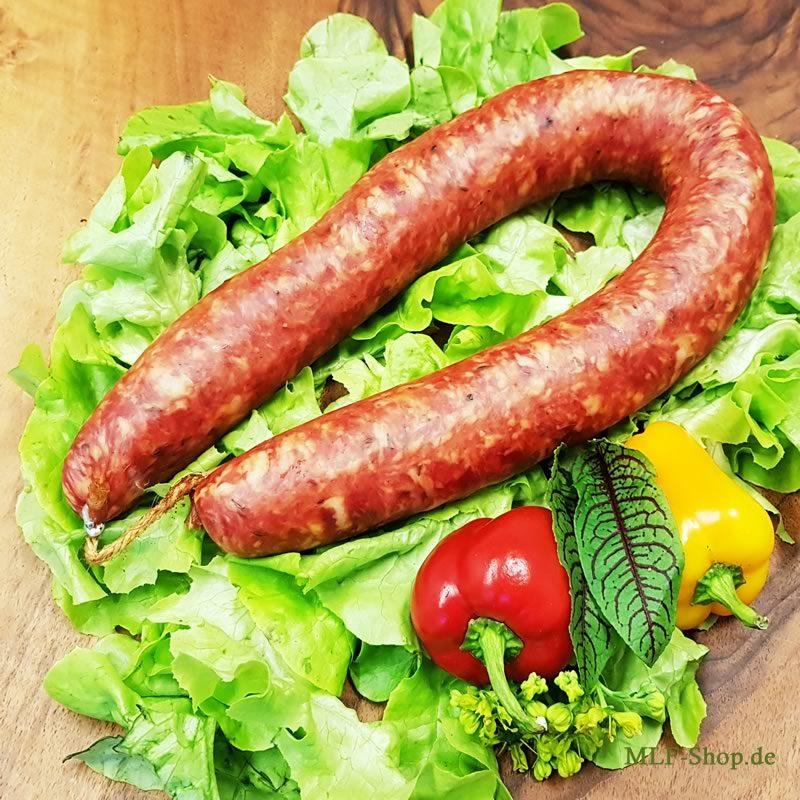 Hausmacher Kümmel Knackwurst