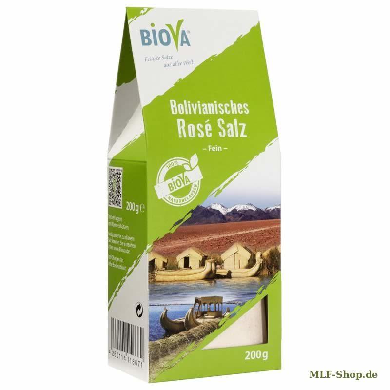 Bolivianisches Rose Salz