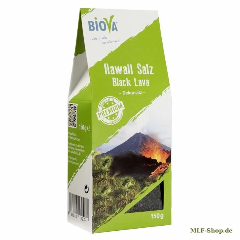Hawaii Salz Schwarz - Dekorsalz